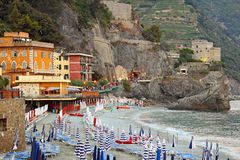 Monterosso, Italy. Royalty Free Stock Photo