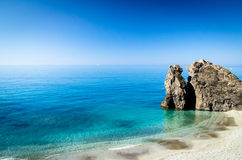 Monterosso's beach Royalty Free Stock Image