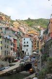 Monterosso sikt Royaltyfri Fotografi