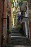monterosso ulica Obrazy Royalty Free