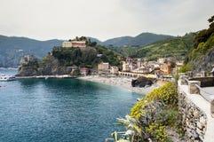 Monterosso village in Cinque Terre, Italy Stock Photo