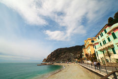 Monterosso village, Italy. Stock Images