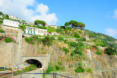 Monterosso village on Ligurian seashore Royalty Free Stock Image