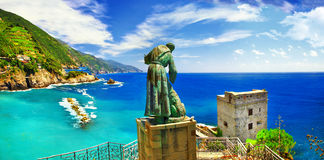 Monterossoal merrie (Ligurië) Royalty-vrije Stock Foto's