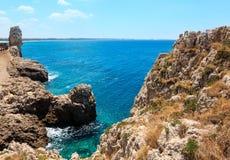 Monterossokust, Cinque Terre stock afbeeldingen