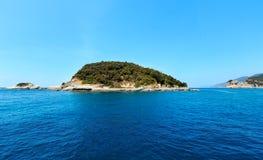 Monterossokust, Cinque Terre Royalty-vrije Stock Foto
