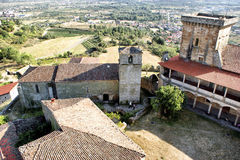 Monterrei castle Stock Photo