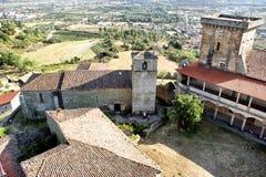 Monterrei kasteel Stock Foto