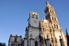 Monterrey Cathedral. Image of the Metropolitan Cathedral of Our Lady of Monterrey (Catedral Metropolitana de Nuestra Señora de Monterrey), at Monterrey, Mexico Stock Photo
