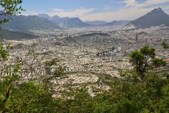 Monterrey Mexico Arkivbilder