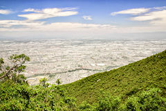 Monterrey, Mexico. The urban sprawl of Monterrey, Mexico stock photography