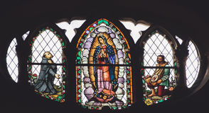 MONTERREY, NUEVO LEON/MEICO - 01 02 2017: Basílica de Guadalupe Fotos de Stock Royalty Free