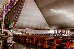 MONTERREY,NUEVO LEON / MEICO - 01 02 2017: Basilica de Guadalupe Royalty Free Stock Image