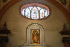 MONTERREY NUEVO LEON/MEICO - 01 02 2017: Basilika de Guadalupe Royaltyfri Foto