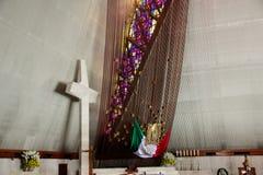 MONTERREY NUEVO LEON/MEICO - 01 02 2017: Basilika de Guadalupe Royaltyfri Fotografi