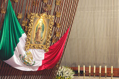 MONTERREY NUEVO LEON/MEICO - 01 02 2017: Basilika de Guadalupe Arkivfoton