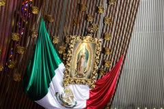 MONTERREY NUEVO LEON/MEICO - 01 02 2017: Basilika de Guadalupe Arkivfoto
