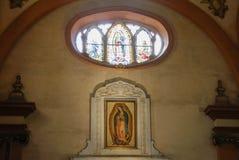 MONTERREY, NUEVO LEON/MEICO - 01 02 2017: Basilikade Guadalupe Lizenzfreies Stockfoto