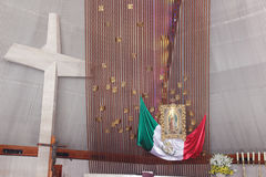 MONTERREY, NUEVO LEON/MEICO - 01 02 2017: Basilikade Guadalupe Stockfoto
