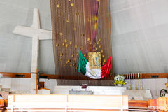 MONTERREY, NUEVO LEON/MEICO - 01 02 2017 : Basilique De Guadalupe Image libre de droits