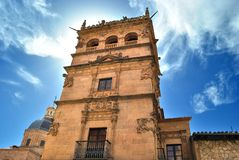 The Monterrey Palace of Salamanca Royalty Free Stock Images