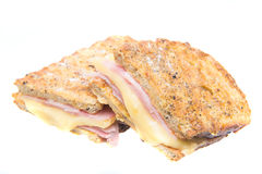 Monterrey sandwich with jam and cheese Royalty Free Stock Image