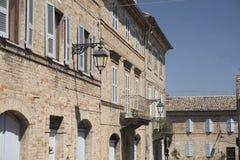 Monterubbiano Fermo, Marches, italy Royalty Free Stock Photos