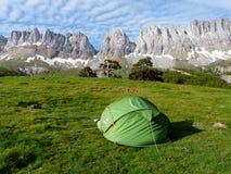Montes Alanos Valle del ³ di Ansà pyrenees spain L'Aragona immagine stock
