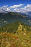 Montes alpinos Imagem de Stock