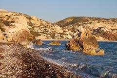 Montes Chipre do Aphrodite fotografia de stock royalty free