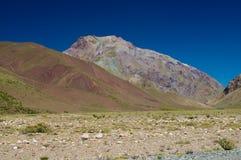 Montes coloridos Imagem de Stock