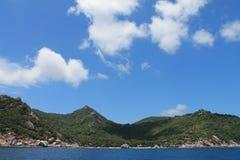 Montes da ilha de Koh Tao Imagem de Stock Royalty Free