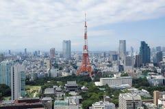 Montes da torre e do roppongi de Tokyo Fotos de Stock Royalty Free