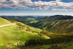 Montes de Alberta Fotografia de Stock