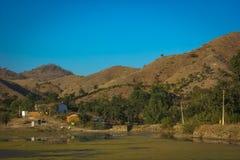 Montes de Aravali imagem de stock