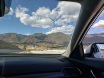 Montes de Califórnia foto de stock