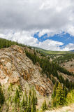 Montes de Colorado Rocky Mountain Fotos de Stock
