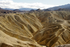 Montes de Death Valley Foto de Stock Royalty Free