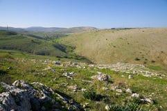 Montes de Galilee Imagens de Stock Royalty Free
