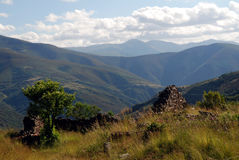 Montes de Leon Royalty Free Stock Image