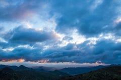Montes de MA? ¡ laga小山,西班牙 免版税库存照片