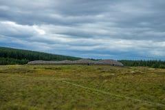 Montes de pedras de pedra escoceses do clava da casa imagens de stock royalty free