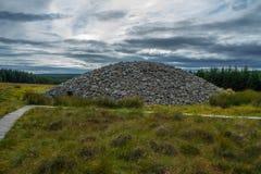 Montes de pedras de pedra escoceses do clava da casa fotografia de stock royalty free