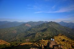 Montes de Ponmudi imagens de stock