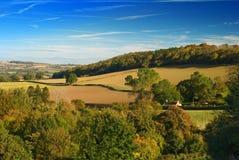 Montes de Shropshire Fotografia de Stock