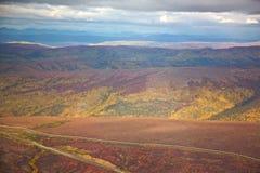 Montes do Alasca de rolamento Foto de Stock