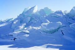 Montes do gelo Fotos de Stock Royalty Free