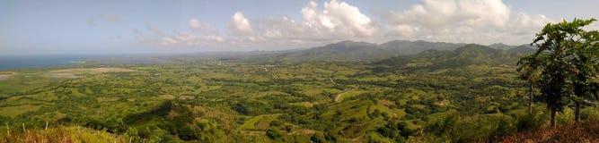 montes e montanhas da República Dominicana Imagem de Stock Royalty Free