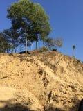 Montes em Sylhet, Bangladesh Imagens de Stock