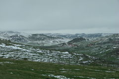 Montes nevado Fotos de Stock Royalty Free